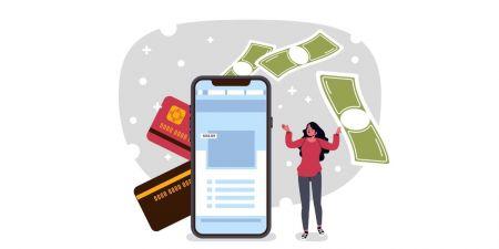 كيفية تسجيل الدخول وإيداع الأموال في Binarycent