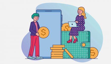 كيفية إيداع الأموال في Binarycent