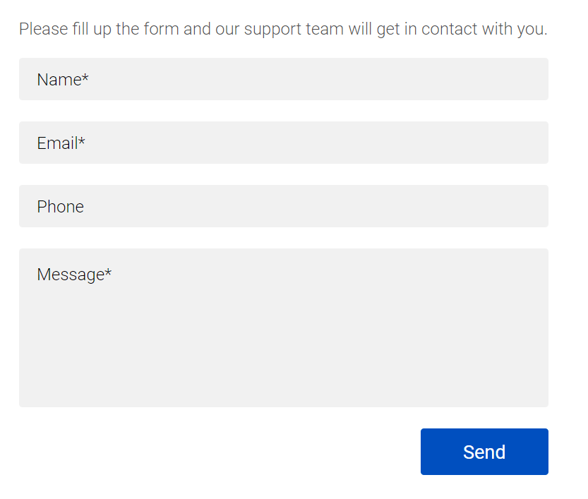Binarycent 지원에 연락하는 방법